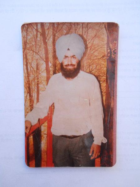 Photo of Gurpreet Singh, victim of extrajudicial execution between May 1, 1990 and December 31,  1994Punjab Police