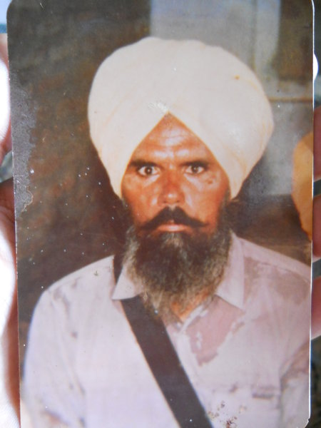 Photo of Wazir Singh,  disappeared on May 22, 1991, in Mansa,  by Punjab Police