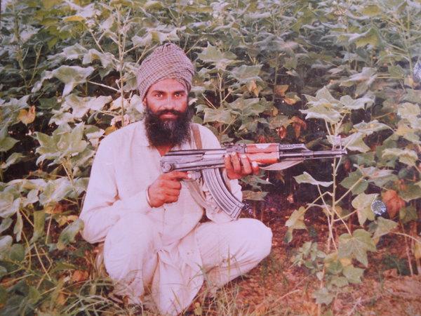 Photo of Bikkar Singh, victim of extrajudicial execution on January 09, 1992, in Mansa,  by Punjab Police; Central Reserve Police Force, in Mansa, by Punjab Police