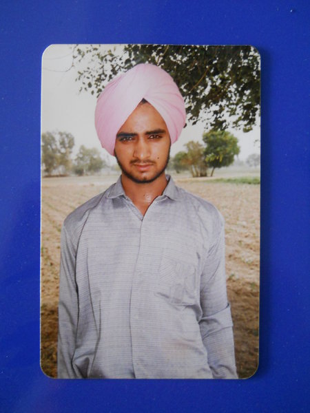 Photo of Makhan Singh, victim of extrajudicial execution on January 03, 1992, in Jhuner, by Punjab Police