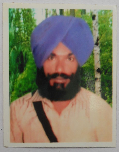 Photo of Bugar Singh,  disappeared on May 22, 1991, in Mansa,  by Punjab Police