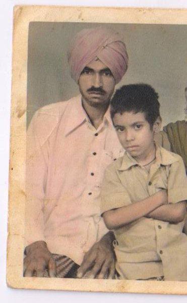Photo of Sadiq Mohamad, victim of extrajudicial execution between January 22, 1991 and January 23,  1991, in Jaurkian, by Punjab Police
