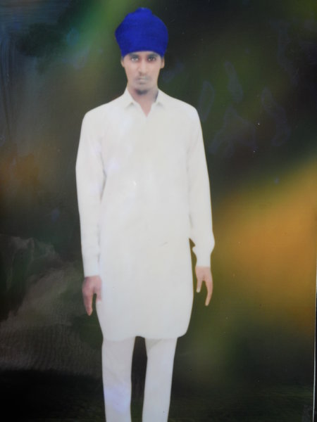 Photo of Jarnail Singh,  disappeared on March 16, 1993, in Mansa,  by Punjab Police
