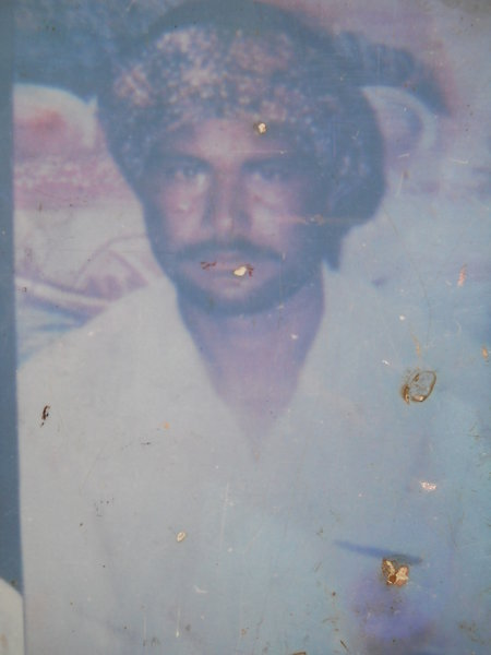 Photo of Shingara Singh,  disappeared on August 23, 1991, in Bhikhi,  by Punjab Police