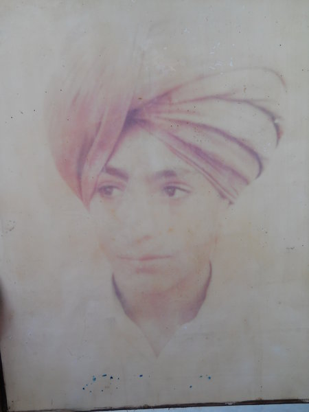 Photo of Beant Singh, victim of extrajudicial execution on May 20, 1993, in Kalanwali