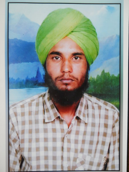 Photo of Kashmir Singh, victim of extrajudicial execution on August 25, 1991, in Sangrur, by Punjab Police