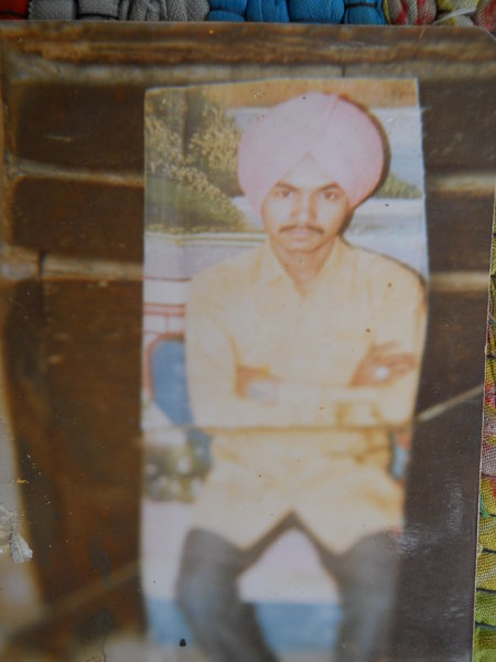 Photo of Bhola Singh,  disappeared on June 23, 1991, in Boha, Budhlada,  by Punjab Police