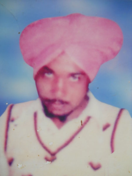 Photo of Bhupinder Singh, victim of extrajudicial execution on October 07, 1991, in Dhanaula, by Punjab Police