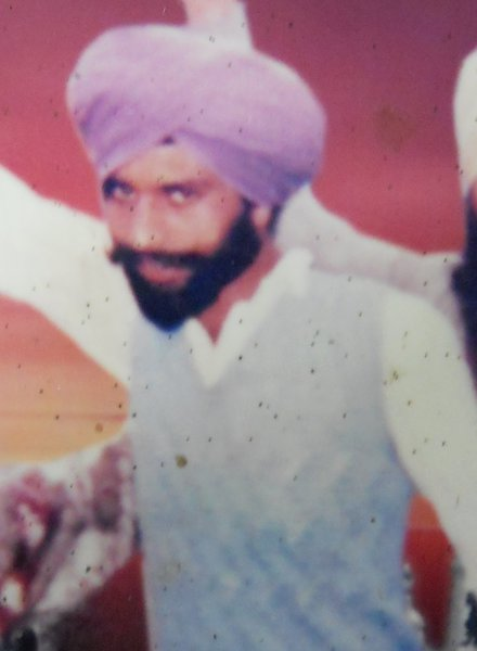 Photo of Gurjant Singh, victim of extrajudicial execution between December 3, 1992 and April 12,  1992, in Dhanaula, by Punjab Police