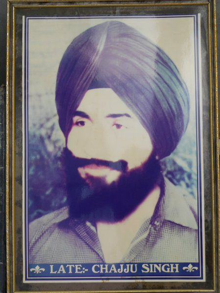 Photo of Chajju Singh, victim of extrajudicial execution between November 29, 1991 and December 25,  1991, in Ramsingh Nagar BSF Post,  by Border Security Force, in Mansa, by Punjab Police