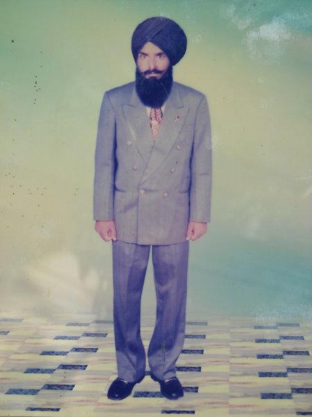 Photo of Gurnam Singh, victim of extrajudicial execution on March 08, 1991