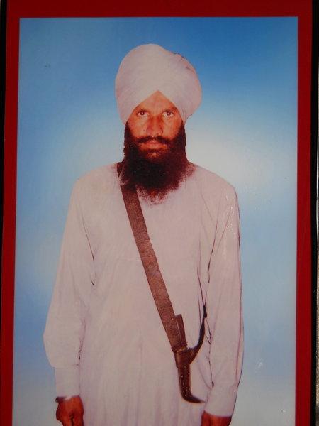 Photo of Balwant Singh, victim of extrajudicial execution on September 06, 1987, in Baggewala, Bhagta Bhai Ka, Sangrur, Mehna, Ghall Khurd, Badhni Kalan, Ghal Kalan, Moga, by Punjab Police