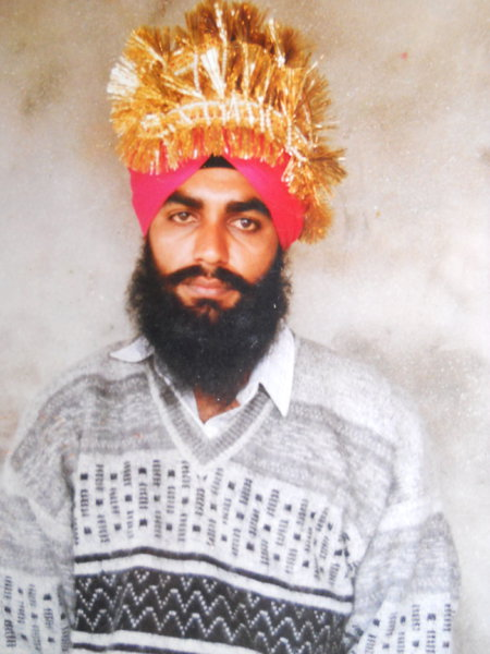 Photo of Amarjeet Singh,  disappeared on March 24, 1993, in Mehna,  by Punjab Police