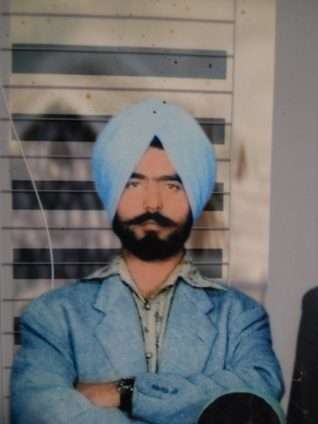 Photo of Darshan Singh, victim of extrajudicial execution between July 5, 1990 and July 10,  1990Punjab Police