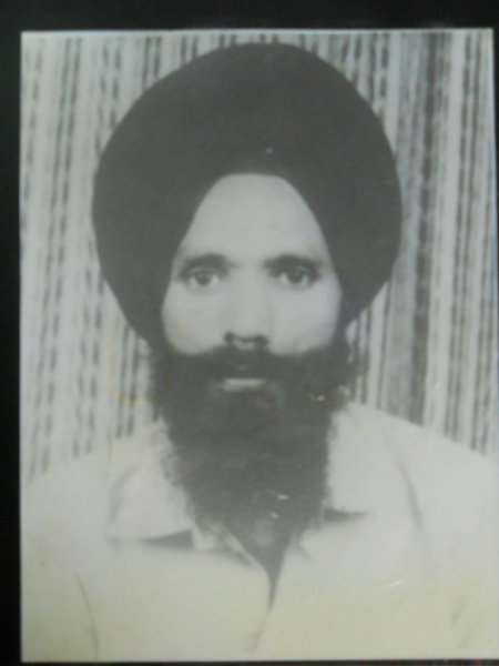 Photo of Balwant Singh, victim of extrajudicial execution between January 17, 1989 and January 18,  1989, in Ludhiana, by Punjab Police
