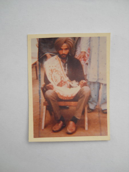 Photo of Hari Singh, victim of extrajudicial execution on September 23, 1987, in Faridkot, by Punjab Police