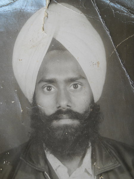 Photo of Basant Singh, victim of extrajudicial execution between June 1, 1986 and July 30,  1986, in Sangrur, by Punjab Police
