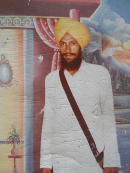 Photo of Jagroop Singh, victim of extrajudicial execution on October 31, 1987, in Dharamkot, by Punjab Police