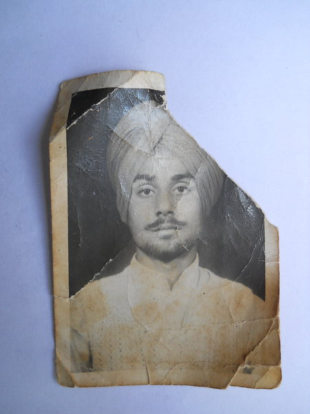 Photo of Hardeep Singh,  disappeared between November 1, 1989 and November 30,  1989 by Punjab Police