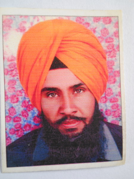 Photo of Gurcharan Singh, victim of extrajudicial execution on September 02, 1989, in Dharamkot, by Punjab Police
