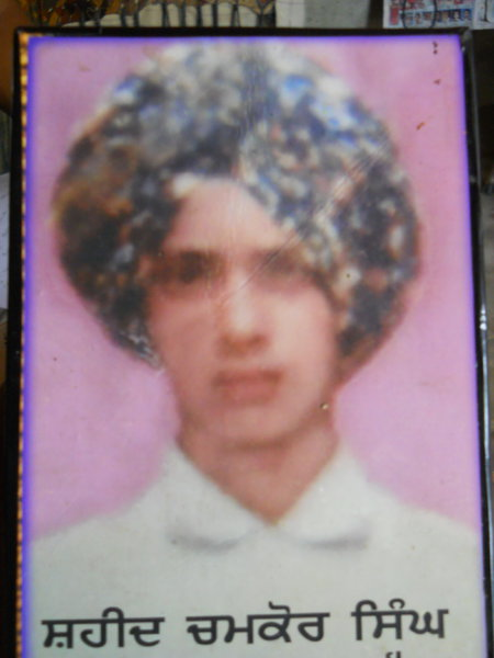 Photo of Chamkaur Singh, victim of extrajudicial execution between October 21, 1992 and February 21,  1993, in Mehna, by Punjab Police