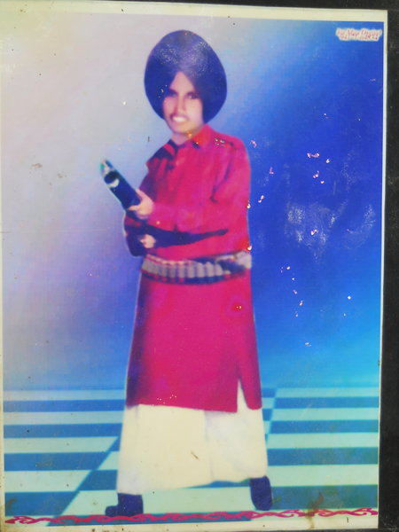 Photo of Gurcharan Singh, victim of extrajudicial execution between April 13, 1987 and May 13,  1987, in Moga CIA Staff, by Punjab Police