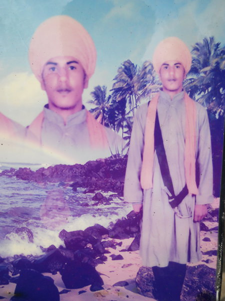 Photo of Harjinder Singh, victim of extrajudicial execution on March 03, 1989, in Ghal Kalan, Moga CIA Staff, Moga,  by Punjab Police; Border Security Force; Central Reserve Police Force, in Ghal Kalan, by Punjab Police