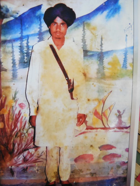 Photo of Veerm Singh,  disappeared between October 15, 1993 and November 15,  1993, in Bhagha Purana,  by Punjab Police