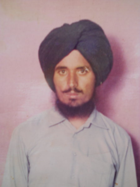 Photo of Hardev Singh, victim of extrajudicial execution on July 22, 1987Punjab Police