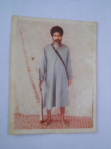 Photo of Gurnam Singh, victim of extrajudicial execution on April 17, 1987, in Ludhiana, by Punjab Police