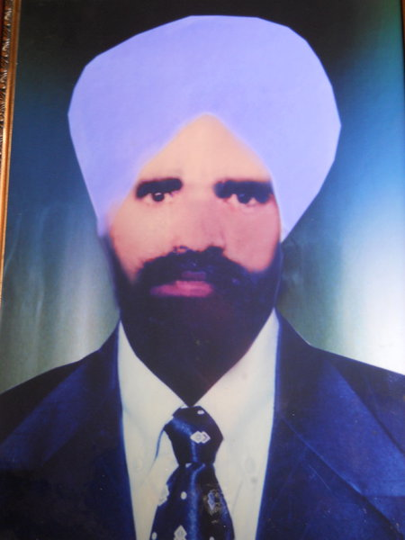Photo of Bhola Singh, victim of extrajudicial execution on November 16, 1982, in Moga, by Punjab Police