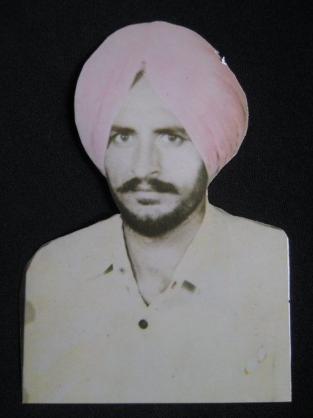 Photo of Jagroop Singh, victim of extrajudicial execution between June 1, 1987 and June 30,  1987Punjab Police