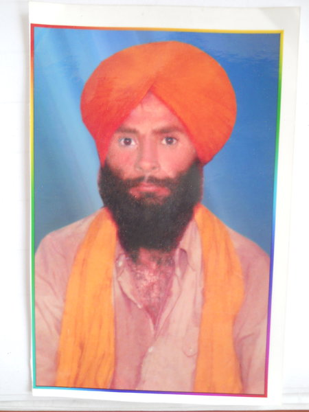 Photo of Nirmal Singh, victim of extrajudicial execution between June 13, 1987 and June 14,  1987Punjab Police