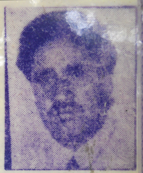 Photo of Gurcharn Singh, victim of extrajudicial execution on March 20, 1993Punjab Police