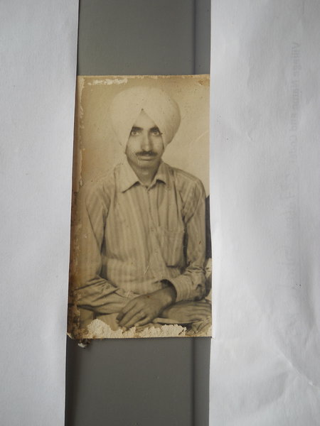 Photo of Charanjit Singh, victim of extrajudicial execution between June 1, 1988 and July 30,  1988Punjab Police