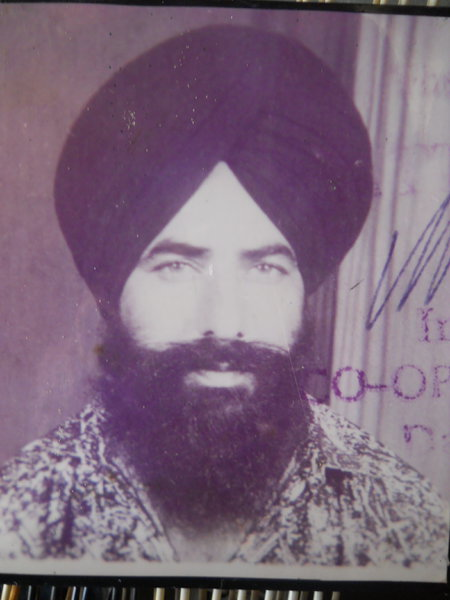 Photo of Ranjit Singh,  disappeared on December 15, 1992, in Jagraon,  by Punjab Police