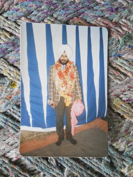 Photo of Rashpal Singh, victim of extrajudicial execution on July 18, 1988, in Bhagha Purana, Smalsar, by Punjab Police