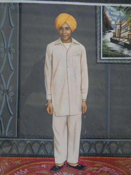 Photo of Jagsir Singh, victim of extrajudicial execution between November 10, 1986 and December 10,  1986, in Moga, by Punjab Police