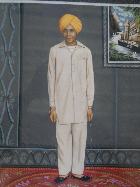 Photo of Jagsir Singh, victim of extrajudicial execution between November 10, 1986 and December 10,  1986, in Moga, by Punjab Police