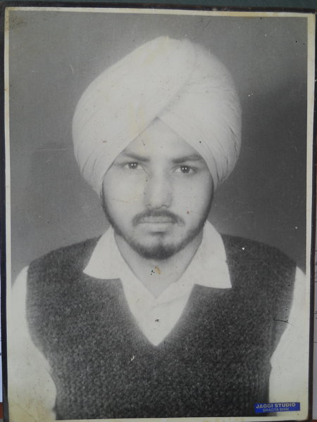 Photo of Makhan Singh,  disappeared on May 3, 1992, in Jagraon,  by Punjab Police