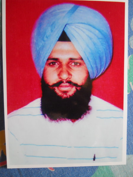 Photo of Prabhjit Singh,  disappeared on February 25, 1993, in Jagraon,  by Punjab Police