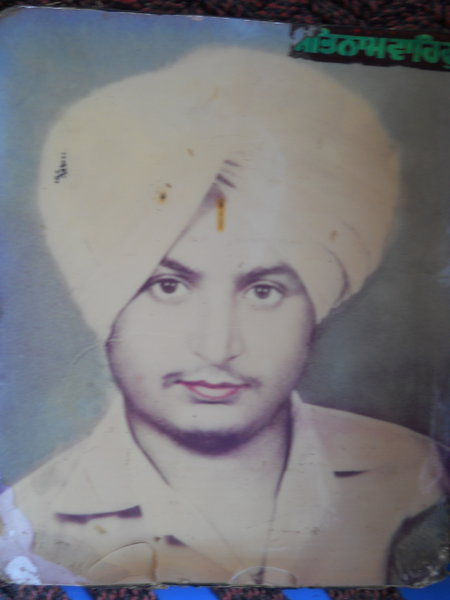 Photo of Gurmukh Singh, victim of extrajudicial execution between August 1, 1991 and September 30,  1991, in Moga CIA Staff,  by Punjab Police; Criminal Investigation Agency, in Moga CIA Staff, Mehna, by Punjab Police