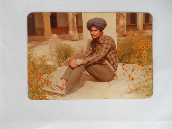 Photo of Jagroop Singh, victim of extrajudicial execution between April 1, 1988 and May 30,  1988, in Ludhiana, by Punjab Police