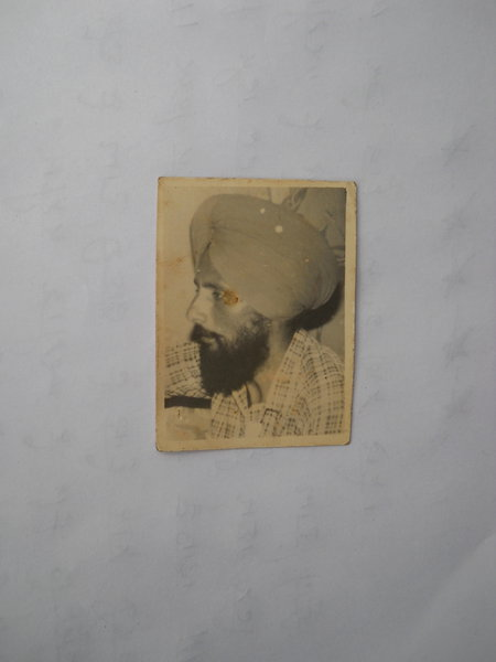 Photo of Gurjant Singh, victim of extrajudicial execution between November 1, 1988 and December 30,  1988Punjab Police