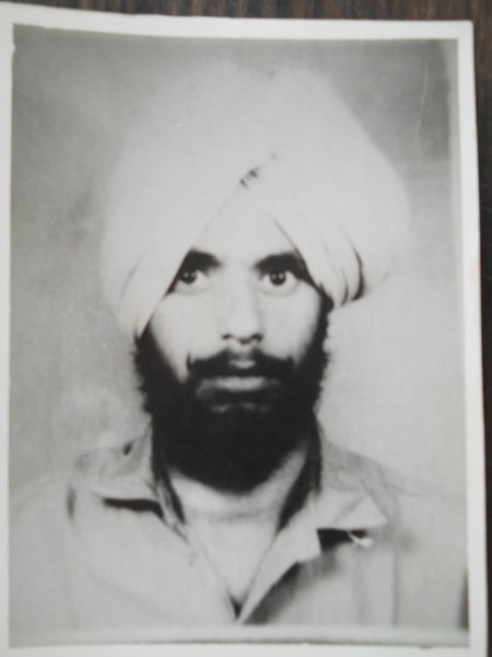 Photo of Bhola Singh, victim of extrajudicial execution between July 1, 1989 and August 30,  1990Punjab Police