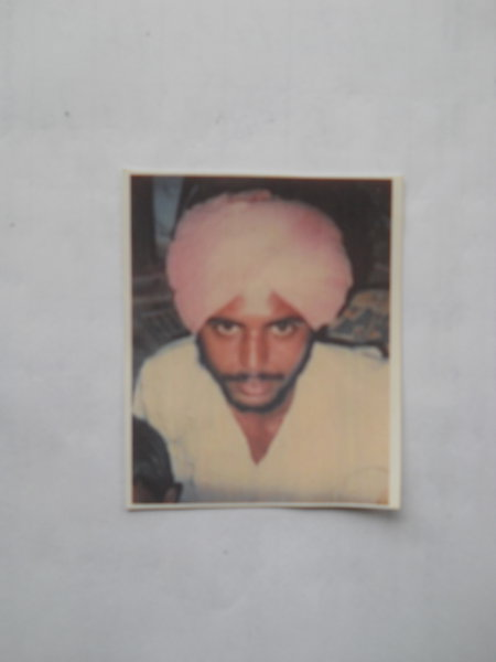 Photo of Gurcharan Singh,  disappeared on March 20, 1993 by Punjab Police
