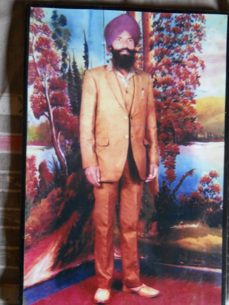 Photo of Kulwant Singh, victim of extrajudicial execution between April 1, 1988 and April 10,  1988, in Mehna, by Punjab Police