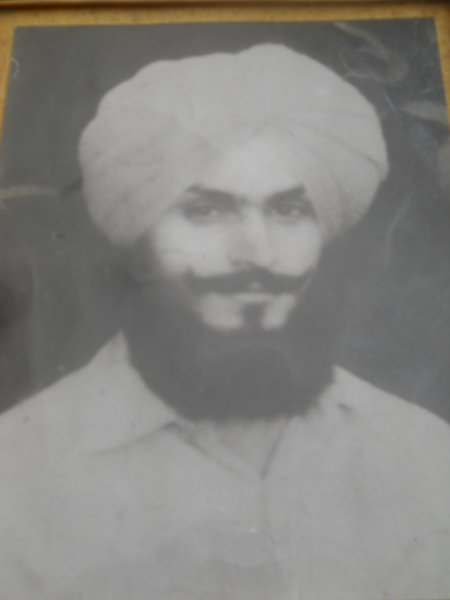 Photo of Amar Singh, victim of extrajudicial execution on October 31, 1988