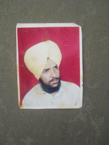 Photo of Malkit Singh, victim of extrajudicial execution between October 29, 1992 and November 5,  1992, in Faridkot, Faridkot CIA Staff,  by Punjab Police; Criminal Investigation Agency, in Faridkot, by Punjab Police; Criminal Investigation Agency