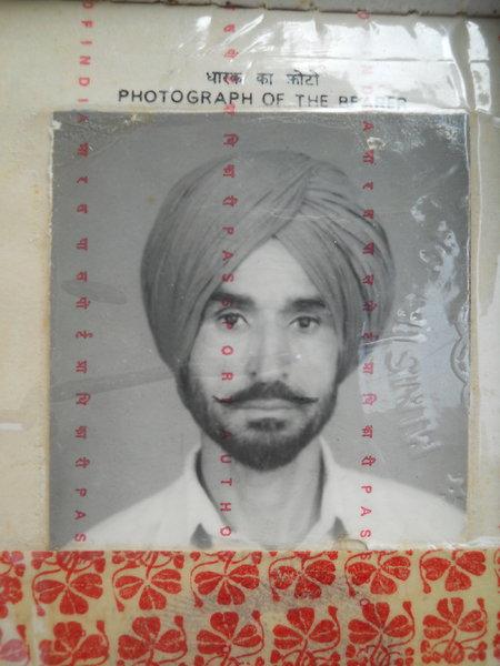 Photo of Gurdev Singh, victim of extrajudicial execution between October 1, 1993 and November 30,  1993Punjab Police